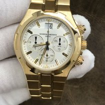 Vacheron Constantin Yellow gold Automatic 40mm pre-owned Overseas Chronograph