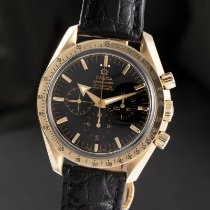 Omega Oro amarillo Automático Negro 41.5mm usados Speedmaster Broad Arrow