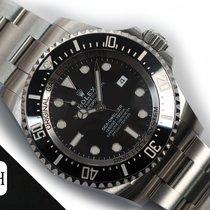 Rolex Sea-Dweller Deepsea подержанные 44mm Черный Дата Сталь