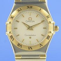 Omega Constellation Ladies Or/Acier 25mm Argent