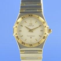 Omega Constellation Ladies Χρυσός / Ατσάλι 25mm Ασημί