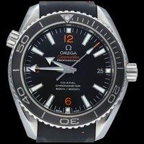 Omega Seamaster Planet Ocean Acier 42mm Noir Arabes