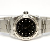 Rolex Oyster Perpetual 26 pre-owned Blue Steel