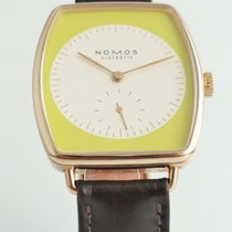 NOMOS Lux Rose gold 34mm Yellow No numerals