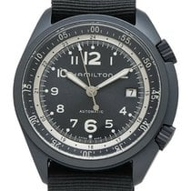Hamilton Khaki Pilot Pioneer Aluminum 41mm Blue Arabic numerals United States of America, New York, Monsey