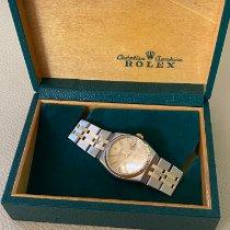Rolex Datejust Oysterquartz Gold/Stahl 36mm Champagnerfarben Keine Ziffern