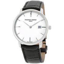 Frederique Constant Slimline Automatic Steel 40mm Silver United States of America, New Jersey