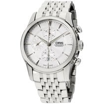 Oris Artelier Chronograph Steel 44mm Silver United States of America, New Jersey, Somerset