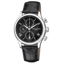 Frederique Constant Runabout Automatic Steel Black United States of America, New Jersey, Somerset