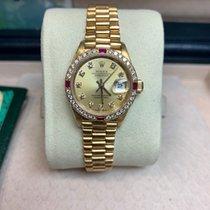 Rolex Datejust 69068 Sehr gut Gelbgold 26mm Automatik