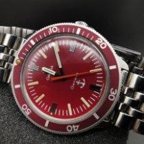 Omega gebraucht Handaufzug 38mm Rot Plexiglas