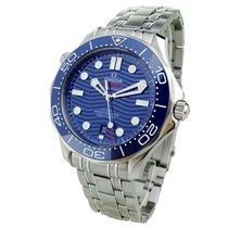 Omega Seamaster Diver 300 M Acier 42mm Bleu