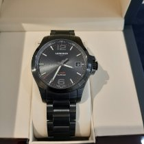 Longines L3.716.2.56.6 Steel 2020 Conquest 41mm new