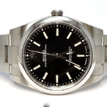 Rolex Oyster Perpetual 39 Steel 39mm Black No numerals United Kingdom, Essex