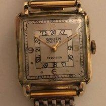Gruen Желтое золото 29mm Механические 5887772 подержанные