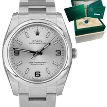Rolex Oyster Perpetual 34 Steel 34mm Silver