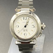 Cartier Pasha C Acier 35mm Blanc Arabes France, Paris