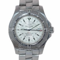 Breitling Colt Automatic Steel 41mm Silver United States of America, New York, Huntington