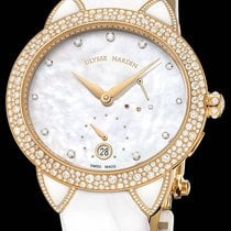 Ulysse Nardin Jade Rose gold Mother of pearl No numerals United States of America, New York, New York
