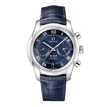 Omega De Ville Co-Axial Steel 42mm Blue United Kingdom