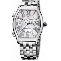 Ulysse Nardin Steel Automatic White Roman numerals 38mm new Michelangelo