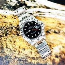 Rolex Explorer II Acier 40mm Noir Sans chiffres France, Marseille