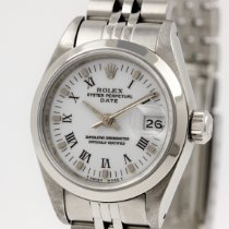 Rolex Oyster Perpetual Lady Date Stahl 26mm Weiß Schweiz, Zürich