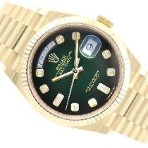 Rolex Day-Date 36 Sárgaarany 36mm Zöld Számjegyek nélkül