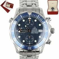 Omega Seamaster Diver 300 M Steel 41.5mm Blue United States of America, New York, Smithtown