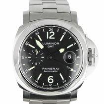 Panerai Luminor GMT Automatic Steel 44mm Black Arabic numerals United States of America, New York, Smithtown