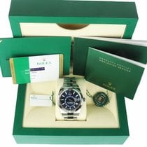 Rolex Sky-Dweller Gold/Steel 42mm Blue United States of America, New York, Smithtown