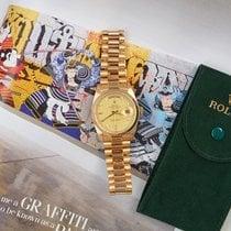 Rolex Day-Date 36 Geelgoud 36mm Champagne Nederland