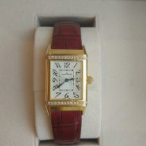 Jaeger-LeCoultre Reverso Duetto Classique Yellow gold 38mm Mother of pearl Arabic numerals