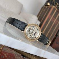 브레게 클래지크 컴플리케이션스 옐로우골드 36mm 은색 로마숫자