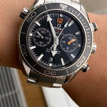 Omega 232.30.46.51.01.003 Acier 2014 Seamaster Planet Ocean Chronograph 44.5mm occasion