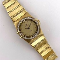 Omega Constellation Ladies Yellow gold 22.5mm Gold No numerals United States of America, Texas, Houston