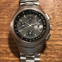 Omega Steel 43.5mm Chronograph 188.001 pre-owned