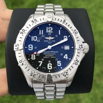 Breitling Superocean Steel 41mm Black Arabic numerals