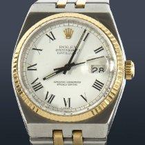 Rolex Datejust Oysterquartz Acero y oro 36mm Blanco Sin cifras España, Madrid