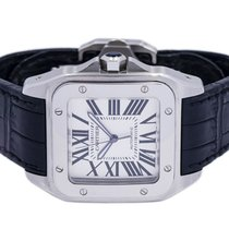 Cartier Santos 100 2656 Very good Steel 38mm Automatic United States of America, New York, Brooklyn