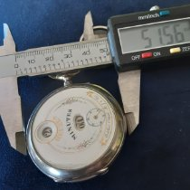 Cortébert Reloj usados 1860 Plata 50,50 mmmm Sin cifras Cuerda manual Solo el reloj
