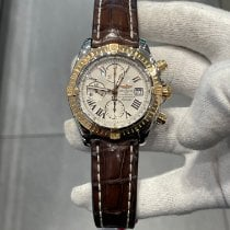 Breitling Chronomat Evolution Gold/Steel 44mm White Roman numerals United States of America, New York, New York