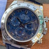 Rolex Daytona Oro blanco 40mm Azul