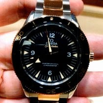 Omega Seamaster 300 Gold/Steel 41mm Black United States of America, New Jersey, Fords