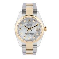 Rolex Lady-Datejust Gold/Steel 31mm White United Kingdom, Macclesfield