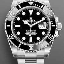 Rolex Submariner Date Steel 41mm Black No numerals United States of America, New York, Brooklyn
