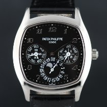 Patek Philippe Perpetual Calendar White gold 37mm Black Arabic numerals