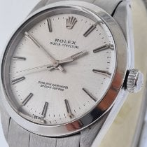Rolex Oyster Perpetual 34 Steel 34mm Grey No numerals