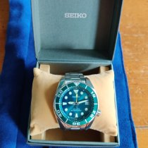 Seiko Steel 44mm Green No numerals United States of America, New Jersey, Hoboken