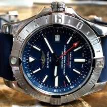 Breitling Avenger II GMT Steel Blue United States of America, Pennsylvania, Philadelphia